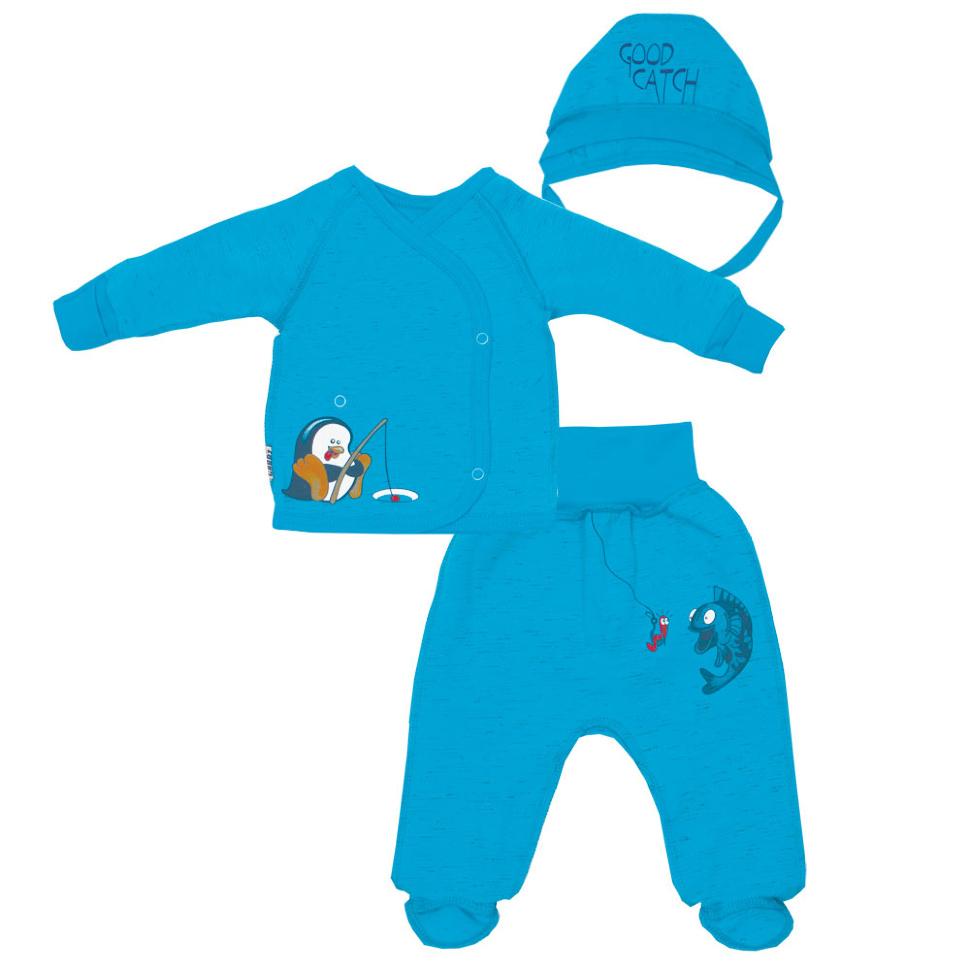 d25f7ad61ef52 Детский комплект для мальчика КТ-01-2-18 *Арктика* - официальный ...